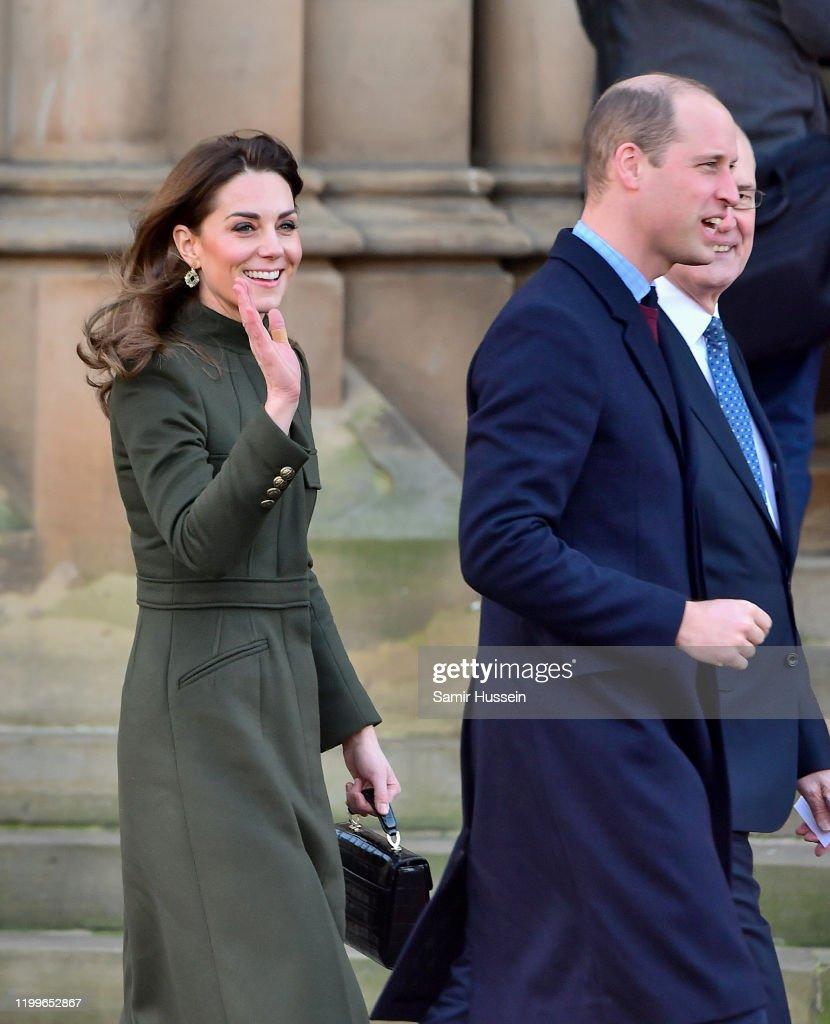 The Duke And Duchess Of Cambridge Visit Bradford : News Photo