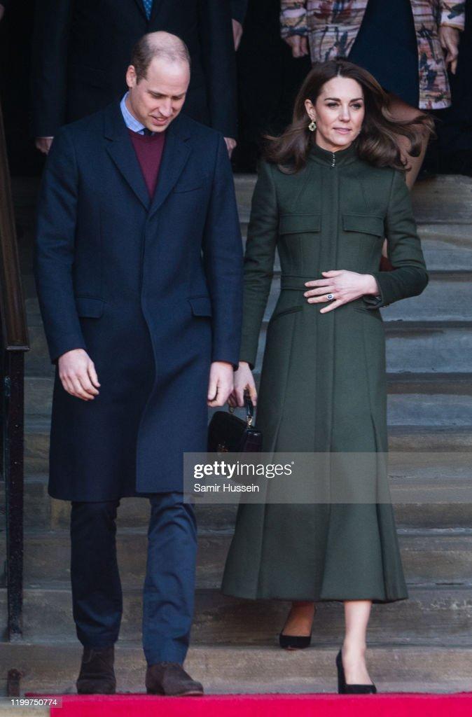 The Duke And Duchess Of Cambridge Visit Bradford : Nachrichtenfoto