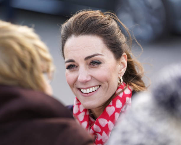 GBR: The Duke And Duchess Of Cambridge Visit Swansea