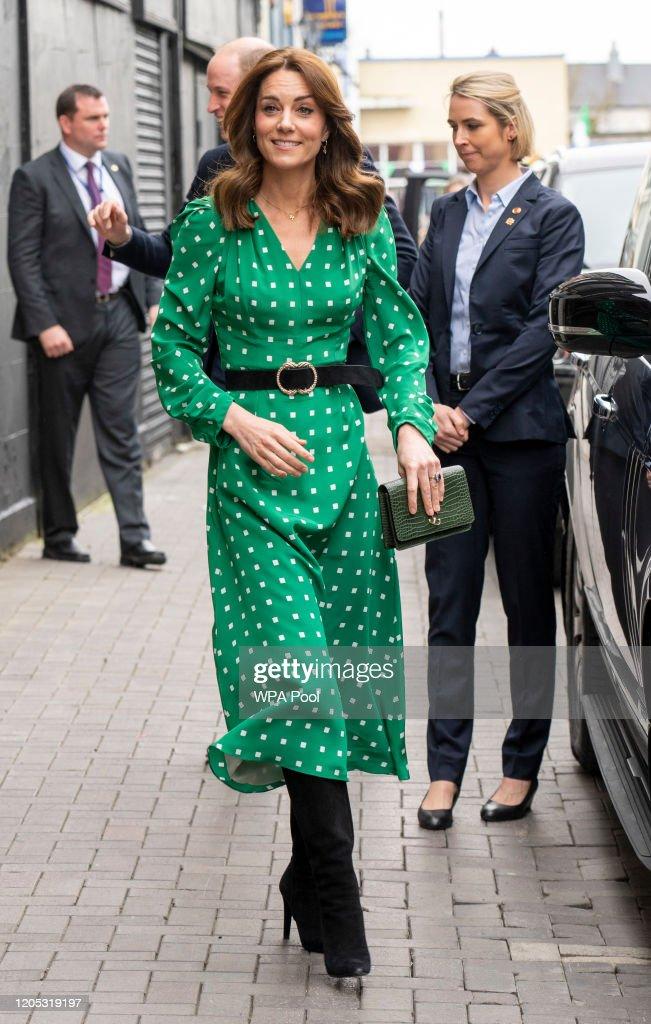 The Duke And Duchess Of Cambridge Visit Ireland - Day Three : News Photo