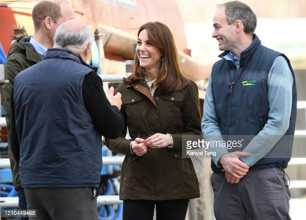 Prince William, Duke of Cambridge and Catherine, Duchess of Cambridge visit Teagasc Research Farm on day two of their Royal tour of Ireland on March...