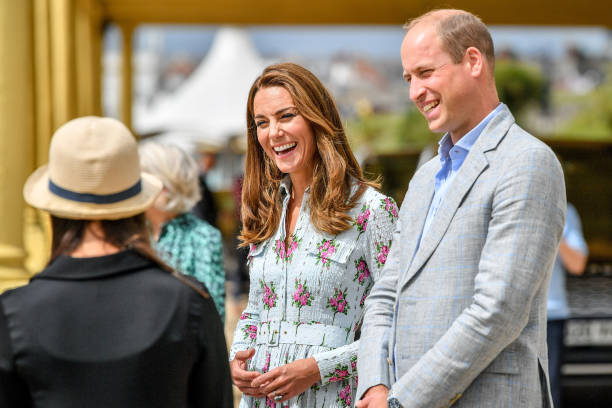 GBR: The Duke And Duchess Of Cambridge Visit South Wales