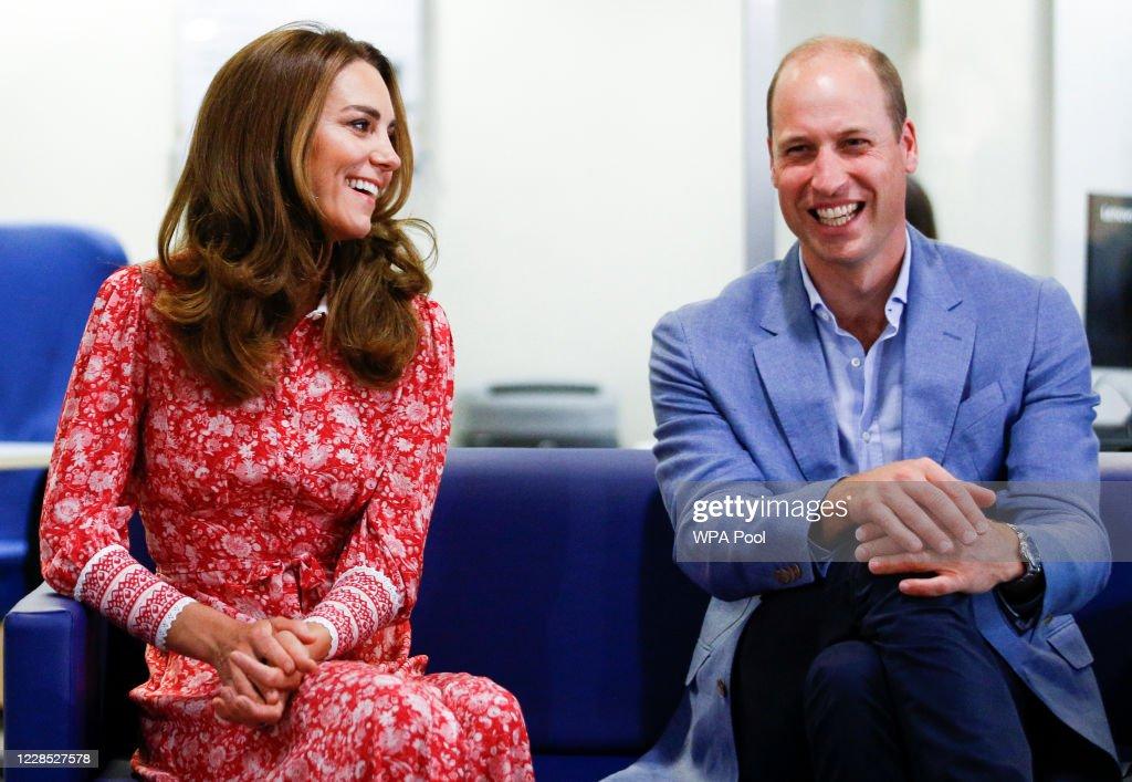 The Duke And The Duchess Of Cambridge Undertake Engagements In London : Foto di attualità