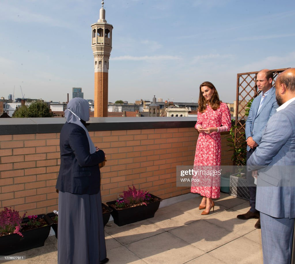 The Duke And The Duchess Of Cambridge Undertake Engagements In London : News Photo