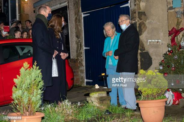 Prince William, Duke of Cambridge and Catherine, Duchess of Cambridge meet locals and pay tribute to the work of individuals and organisations that...