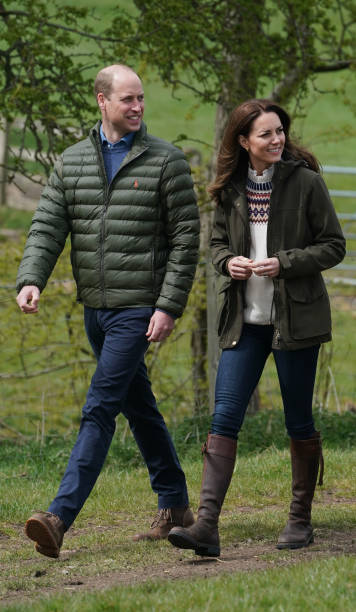 GBR: The Duke And Duchess Of Cambridge Visit County Durham