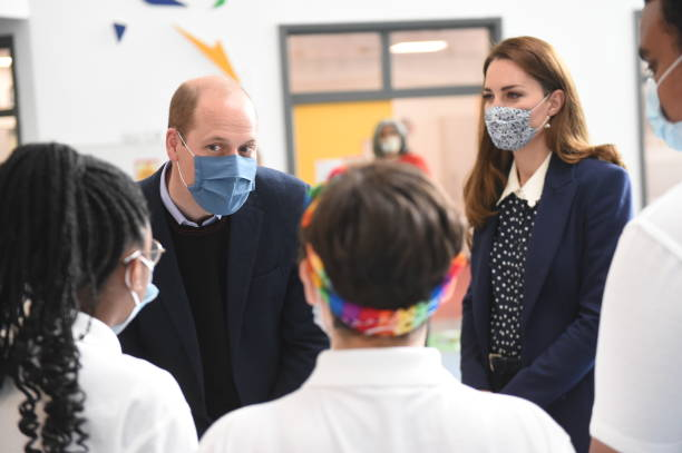 GBR: The Duke And Duchess Of Cambridge Carry Out Engagements In Wolverhampton