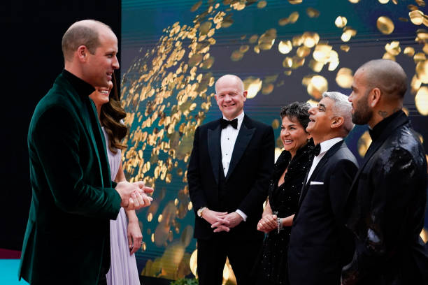 GBR: The Duke And Duchess Of Cambridge Attend The London 2021 Earthshot Prize Awards Ceremony