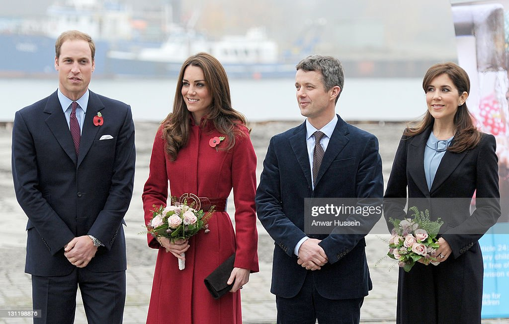 The Duke and Duchess of Cambridge Visit UNICEF Centre in Copenhagen