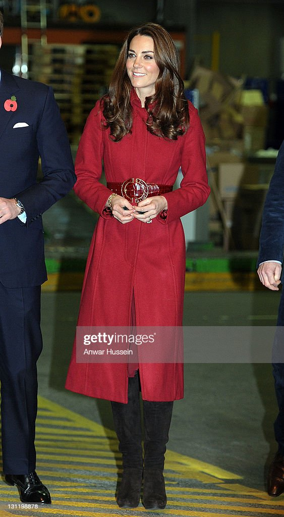 The Duke And Duchess Of Cambridge Visit UNICEF Centre In Copenhagen : News Photo