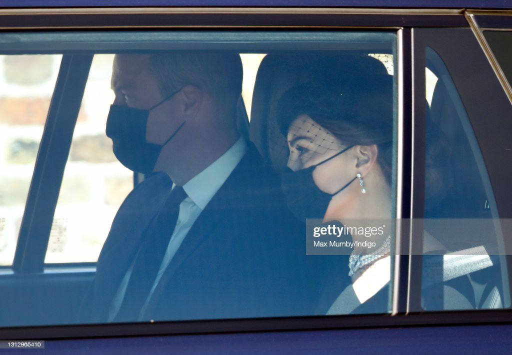 Britons And The Rest Of The World Mark The Death Of The Duke Of Edinburgh On The Day Of His Funeral : News Photo