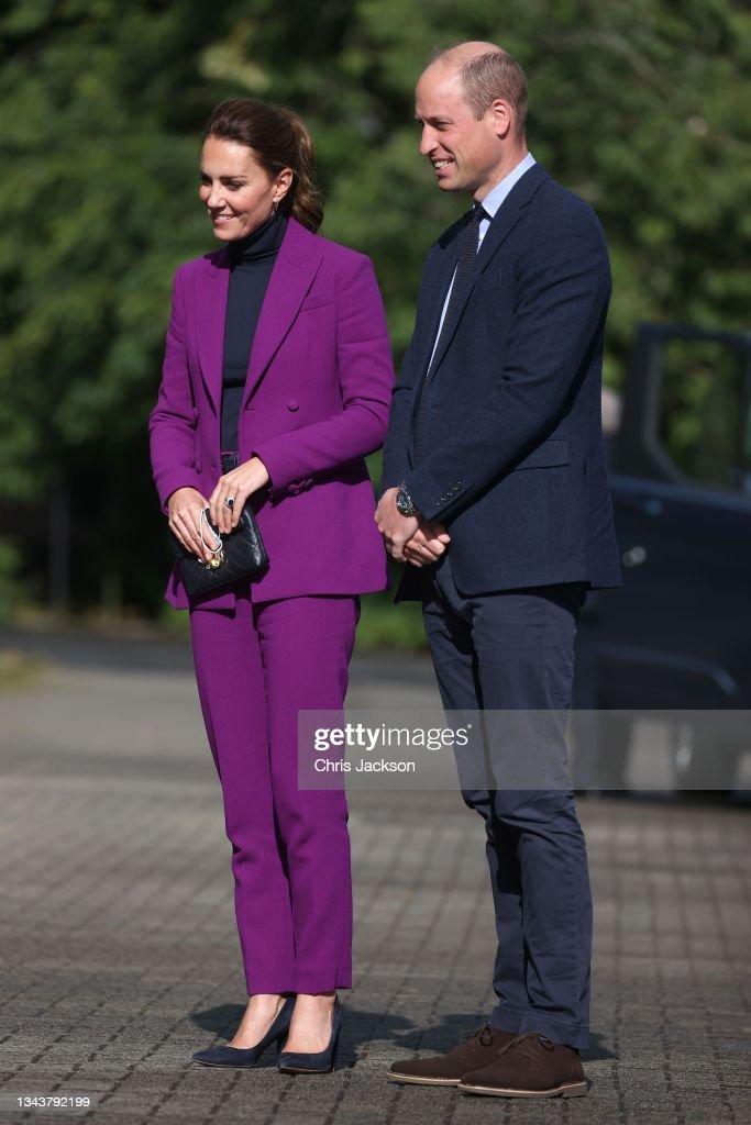 The Duke And Duchess Of Cambridge Visit Northern Ireland : News Photo