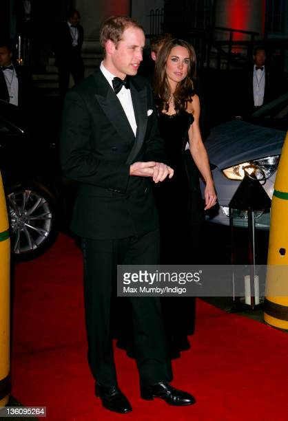 Prince William, Duke of Cambridge and Catherine, Duchess of Cambridge attend The Sun Military Awards at Imperial War Museum on December 19, 2011 in...