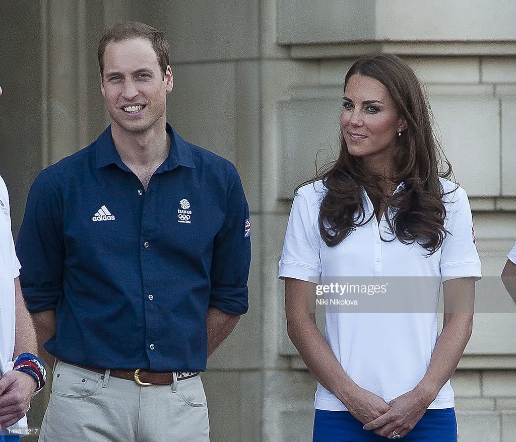 Prince William, Duke of Cambridge and Catherine, Duchess of Cambridge sighting on July 26, 2012 in London, England.