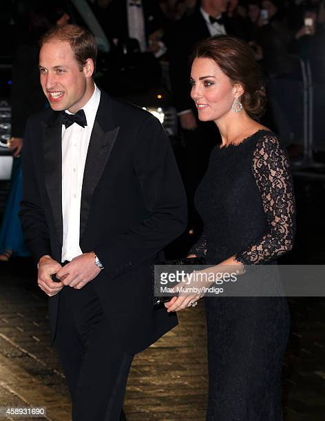 Prince William, Duke of Cambridge and Catherine, Duchess of Cambridge attend the Royal Variety Performance at the London Palladium on November 13,...