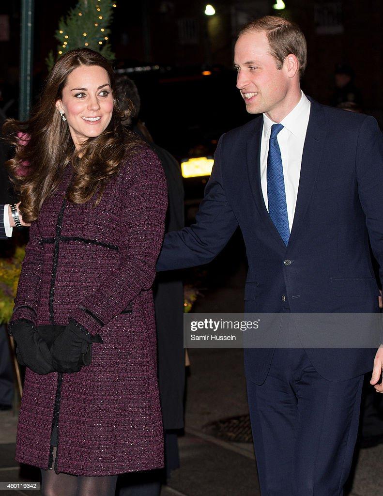The Duke And Duchess Of Cambridge Arrive In New York : News Photo