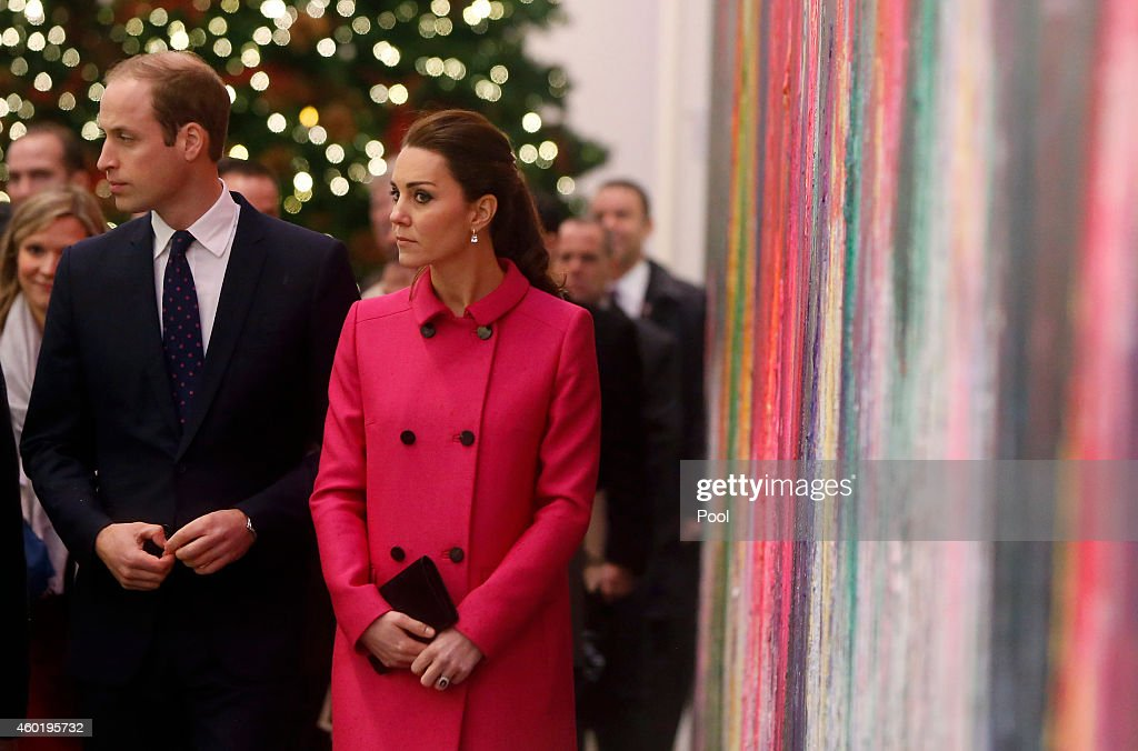 The Duke And Duchess Of Cambridge Visit The National September 11 Memorial Museum : News Photo