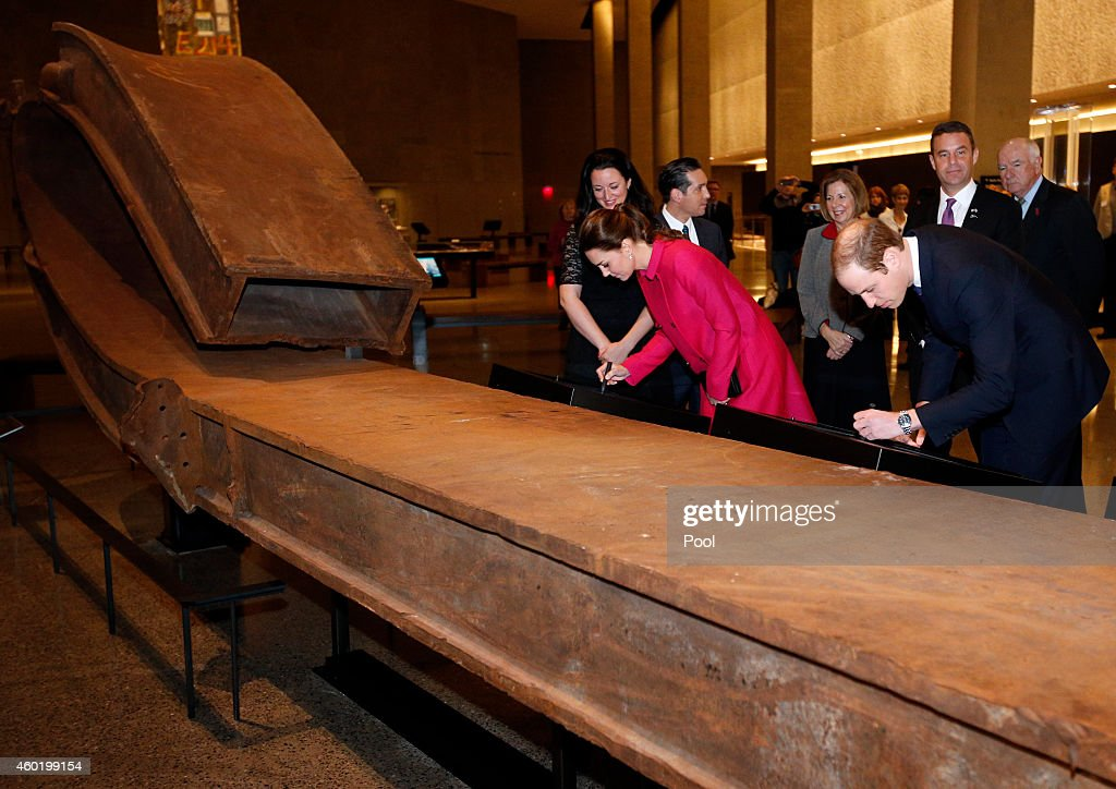 Prince William, Duke of Cambridge and Catherine, Duchess of Cambridge Visit The National September 11 Memorial Museum : News Photo