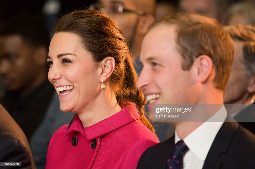 The Duke And Duchess Of Cambridge Visit The Door : News Photo