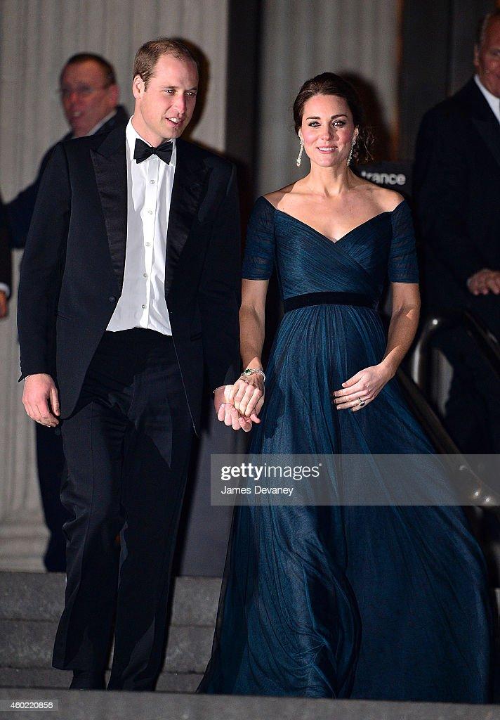 The Duke And Duchess Of Cambridge Sighting In New York City - December 09, 2014 : News Photo