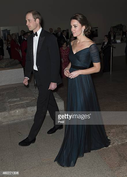Prince William, Duke of Cambridge and Catherine, Duchess of Cambridge attend the St. Andrews 600th Anniversary Dinner at the Metropolitan Museum of...