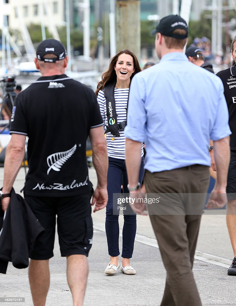 The Duke And Duchess Of Cambridge Tour Australia And New Zealand - Day 5 : News Photo