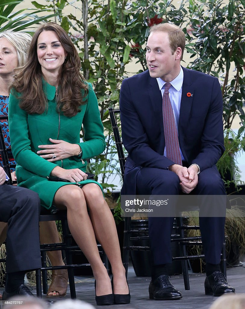 The Duke And Duchess Of Cambridge Tour Australia And New Zealand - Day 6 : Fotografia de notícias