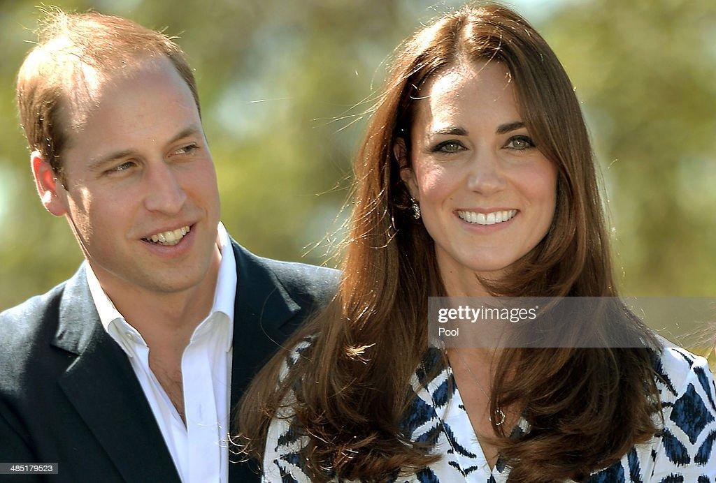 The Duke And Duchess Of Cambridge Tour Australia And New Zealand - Day 11 : Nachrichtenfoto