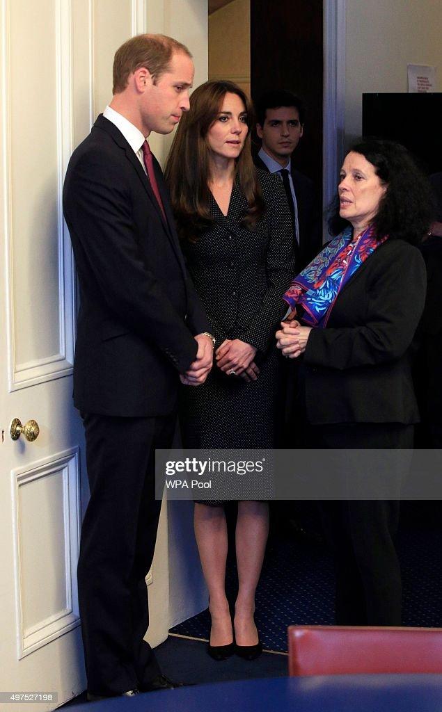 The Duke And Duchess of Cambridge Sign Book Of Condolences : News Photo