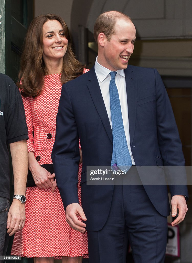 Prince William, Duke of Cambridge and Catherine, Duchess of Cambridge visit the mentoring programme of the XLP project.London Wall on March 11, 2016 in London, England. XLP supports young people who are facing emotional, behavioural and relational challenges.