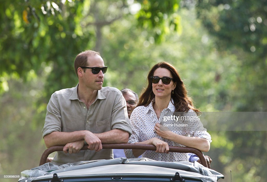 The Duke & Duchess Of Cambridge Visit India & Bhutan - Day 4 : News Photo