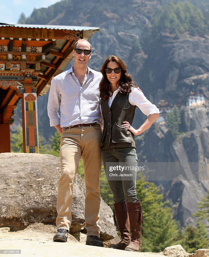 The Duke and Duchess Of Cambridge Visit India and Bhutan - Day 6 : ニュース写真