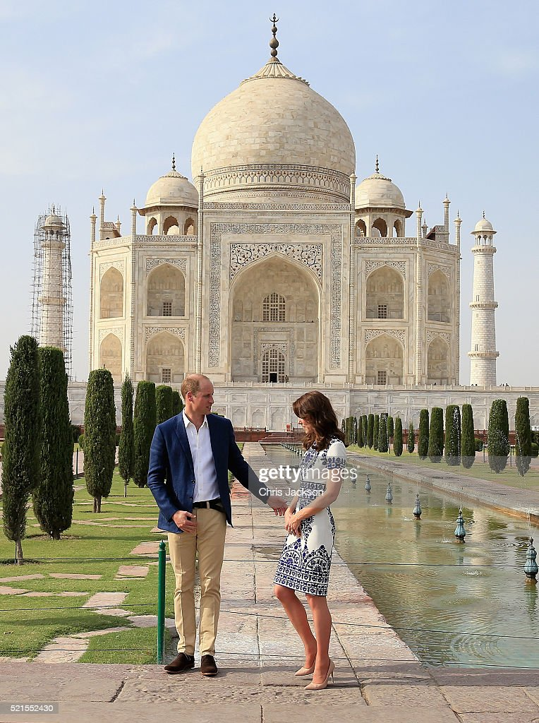 The Duke and Duchess Of Cambridge Visit India and Bhutan - Day 7 : News Photo