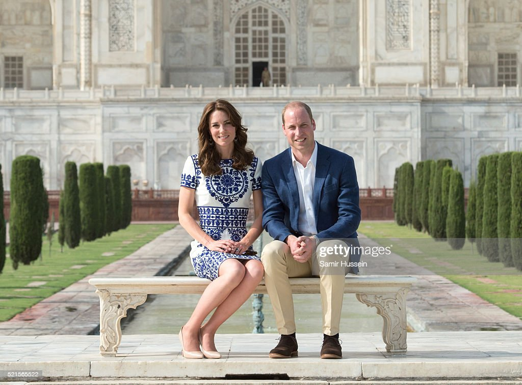 The Duke & Duchess Of Cambridge Visit India & Bhutan - Day 7 : News Photo