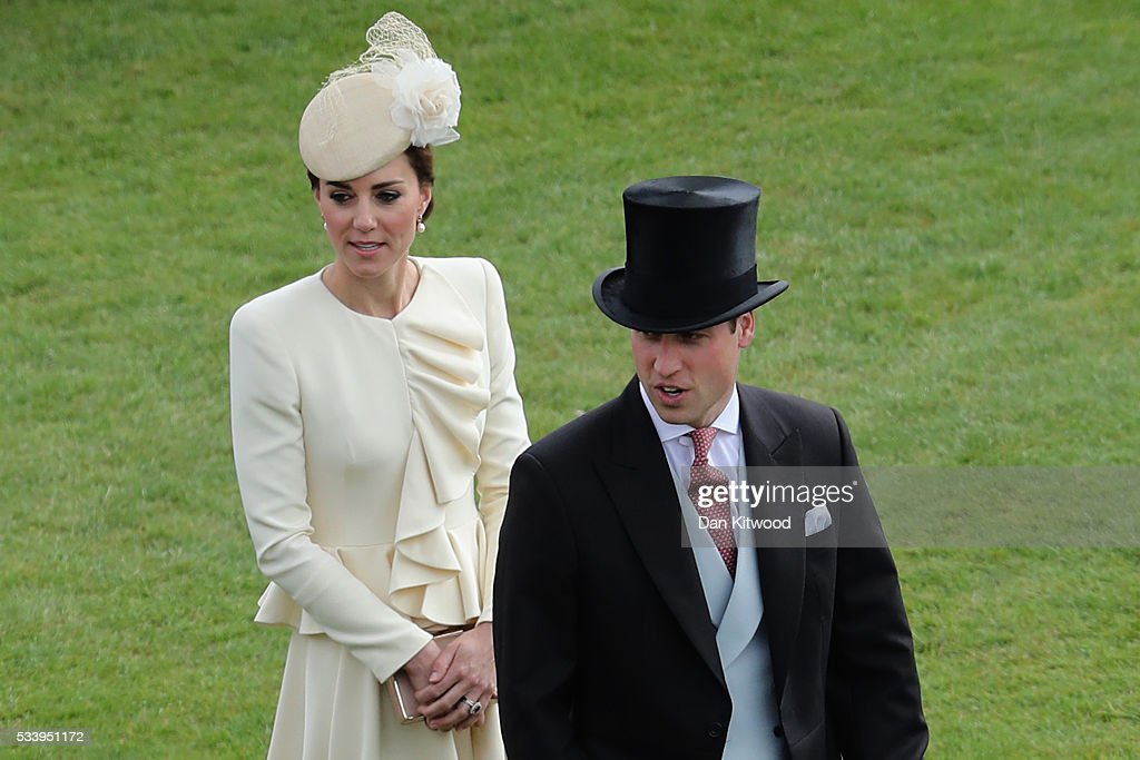 Elevated View Of The Queen's Garden Party : News Photo