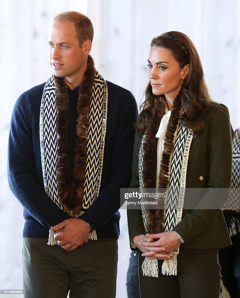 2016 Royal Tour To Canada Of The Duke And Duchess Of Cambridge - Haida Gwaii, British Columbia : News Photo
