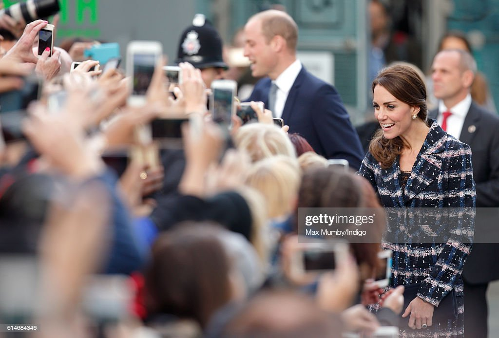 The Duke & Duchess Of Cambridge Visit Manchester : News Photo