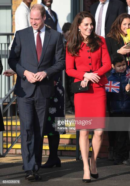 Prince William, Duke of Cambridge and Catherine, Duchess of Cambridge attend the Place2Be Big Assembly With Heads Together for Children's Mental...