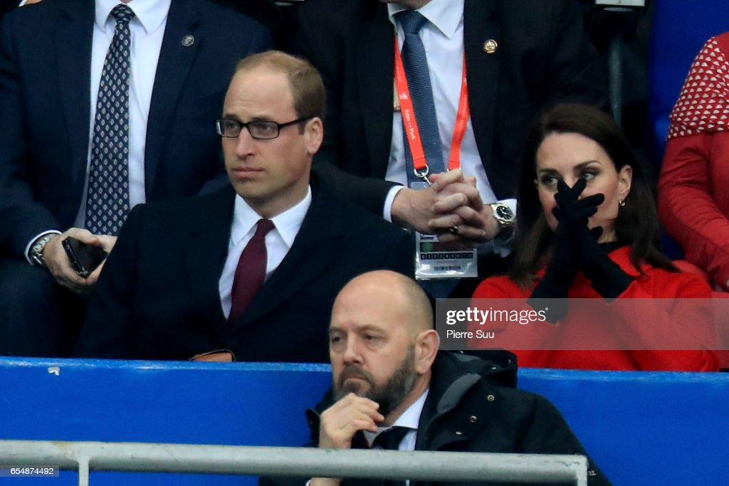Celebrities At France v Wales - RBS Six Nations : News Photo