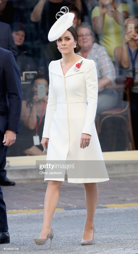 Members Of The Royal Family Attend The Passchendaele Commemorations In Belgium : Nachrichtenfoto