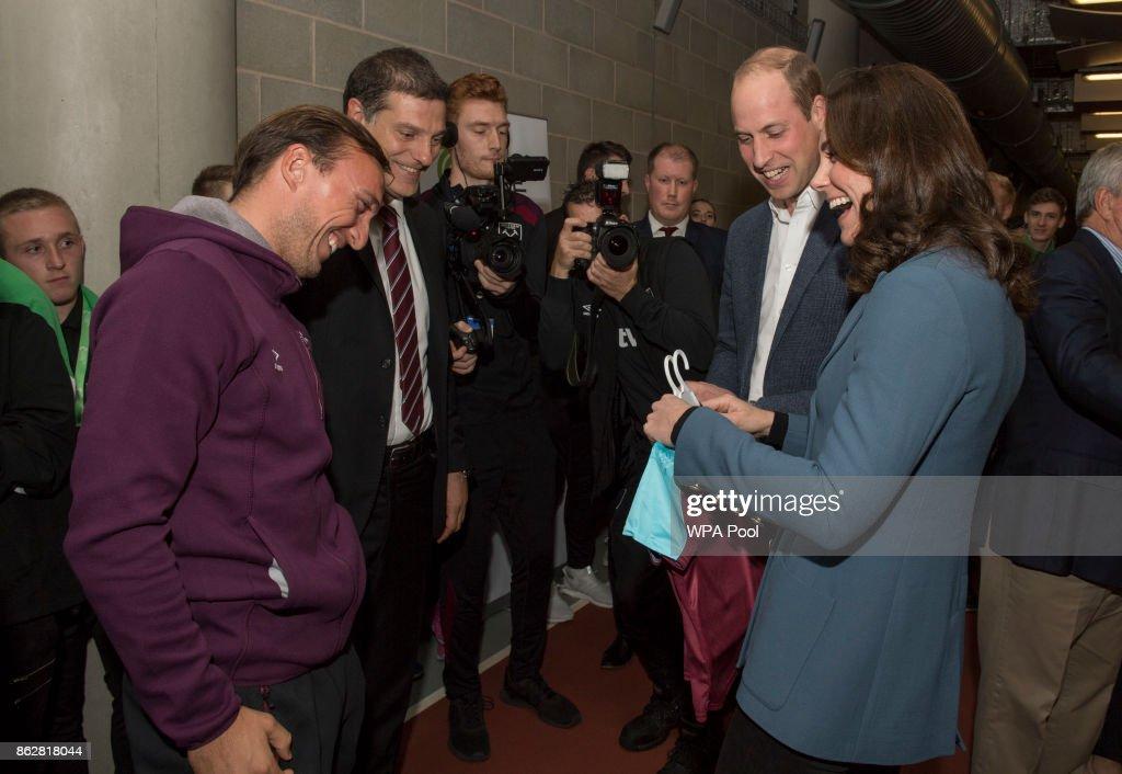 The Duke Of Cambridge & Prince Harry Attend The Coach Core Graduation