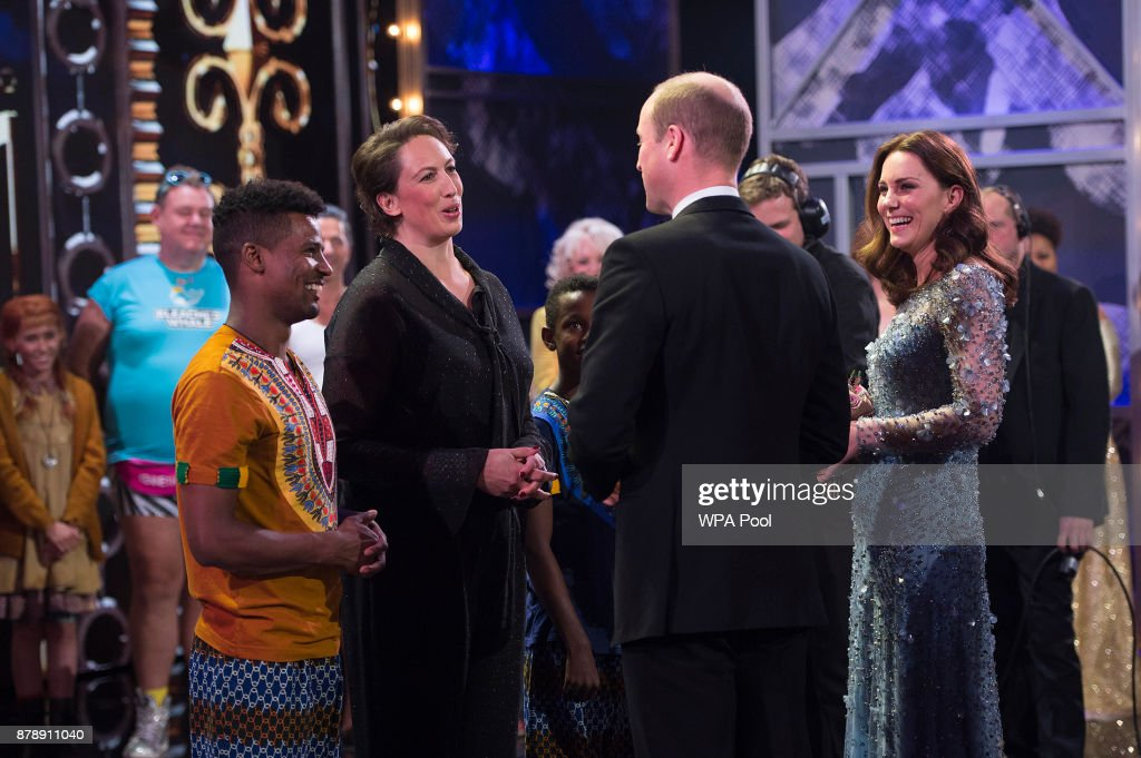 The Duke & Duchess Of Cambridge Attend The Royal Variety Performance : News Photo