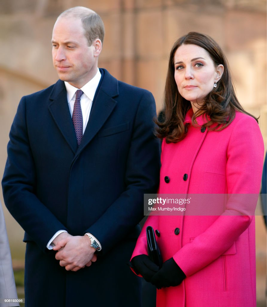 The Duke and Duchess Of Cambridge Visit Coventry : News Photo
