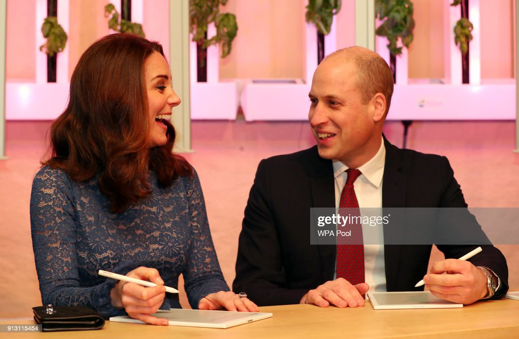 Prince William, Duke of Cambridge and Catherine, Duchess of Cambridge visit 'MESH', a work-space for start-up tech companies on day 3 of their visit to Sweden and Norway on February 1, 2018 in Oslo, Norway.