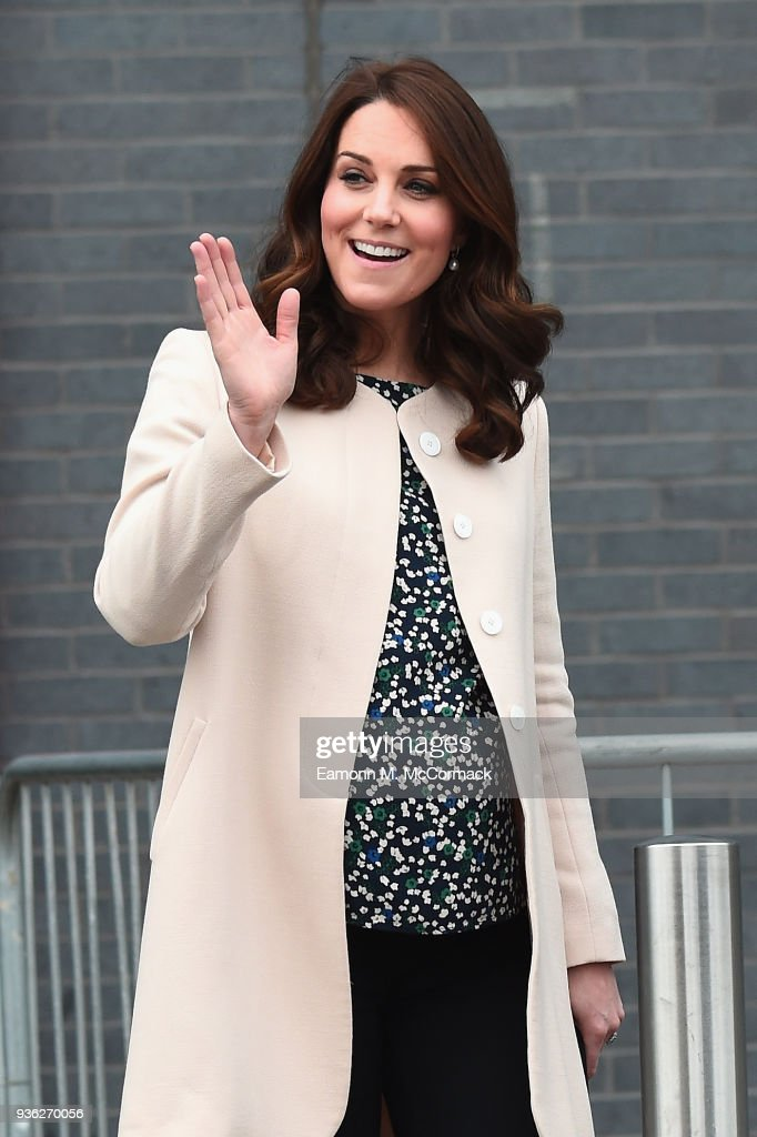 Kate Makes Her Last Appearance Before Maternity Leave