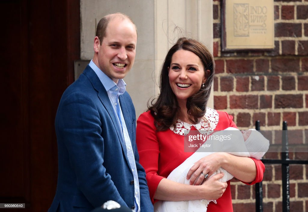 The Duke & Duchess Of Cambridge Welcome A Son