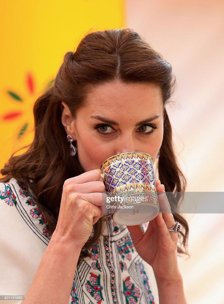 The Duke and Duchess Of Cambridge Visit India and Bhutan - Day 5 : News Photo