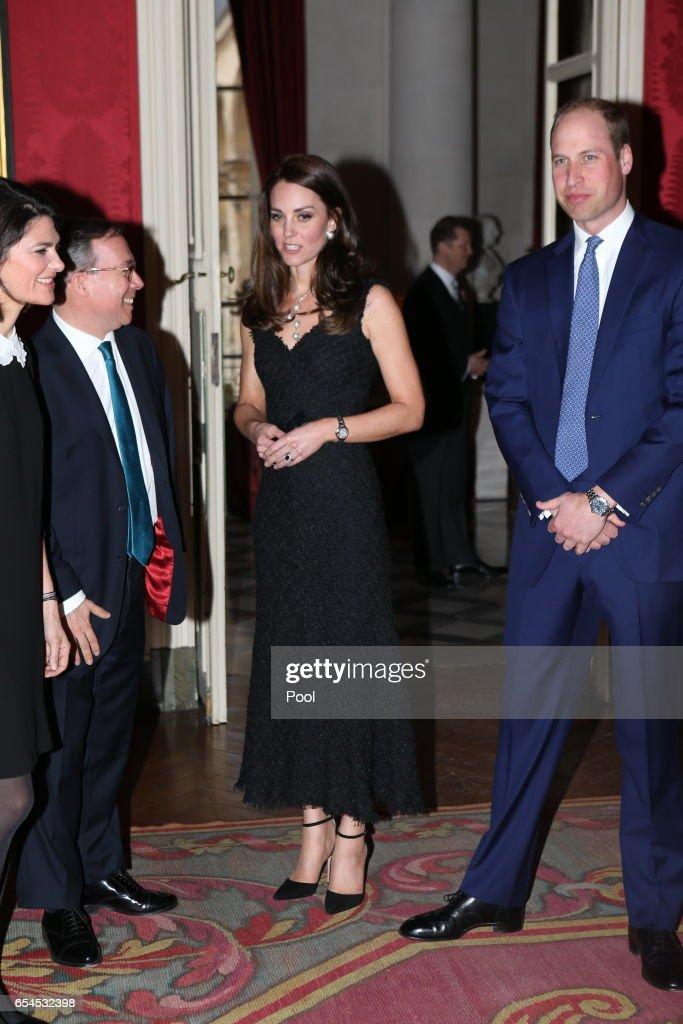 The Duke And Duchess Of Cambridge Visit Paris: Day One : News Photo