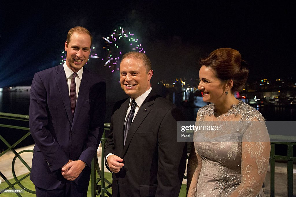 The Duke Of Cambridge Visits Malta - Day 1