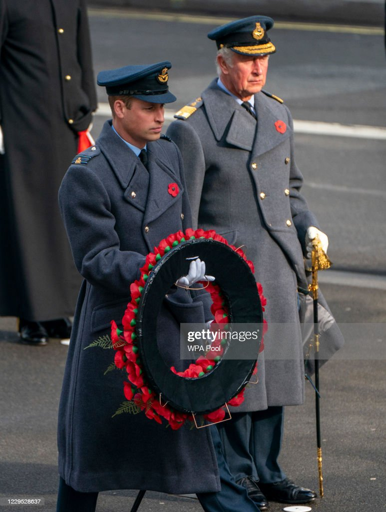 National Service Of Remembrance At The Cenotaph : News Photo